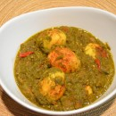 Dhania (Cilantro)  Egg Curry