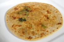 Methi Aloo Parantha (Potato and fenugreek)