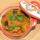 Baingan Kara (Spicy Eggplant Curry)