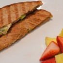 Grilled Veggie Sandwich (Indian style).