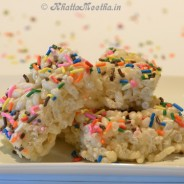 Rice Crispies Treats with Cake Mix