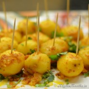 Tandoori Aloo (Grilled Potatoes)