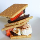 Strawberry Banana Smores