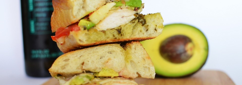 Paneer/ Chicken Pesto Panini