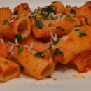 Roasted Pepper and Garlic Pasta