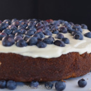 Almond Blueberry and Lemon Cake