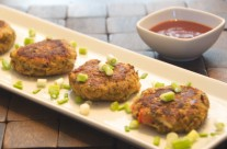 Sprouted Mung Tikki (patties)