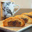 Chocolate Coated Almond Biscotti