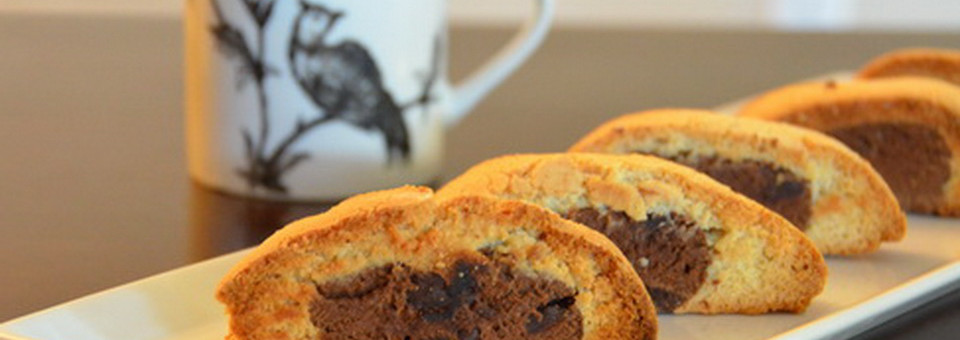 Chocolate Spiced Biscotti